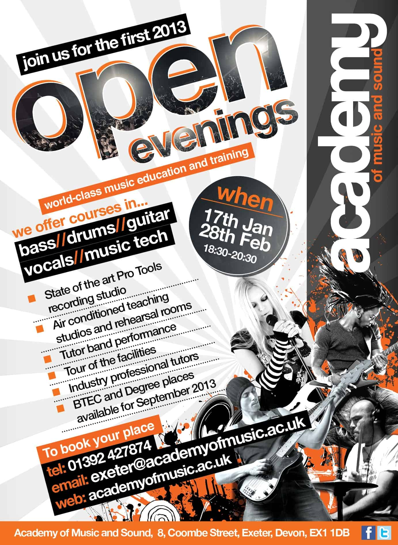 OPen Evenings