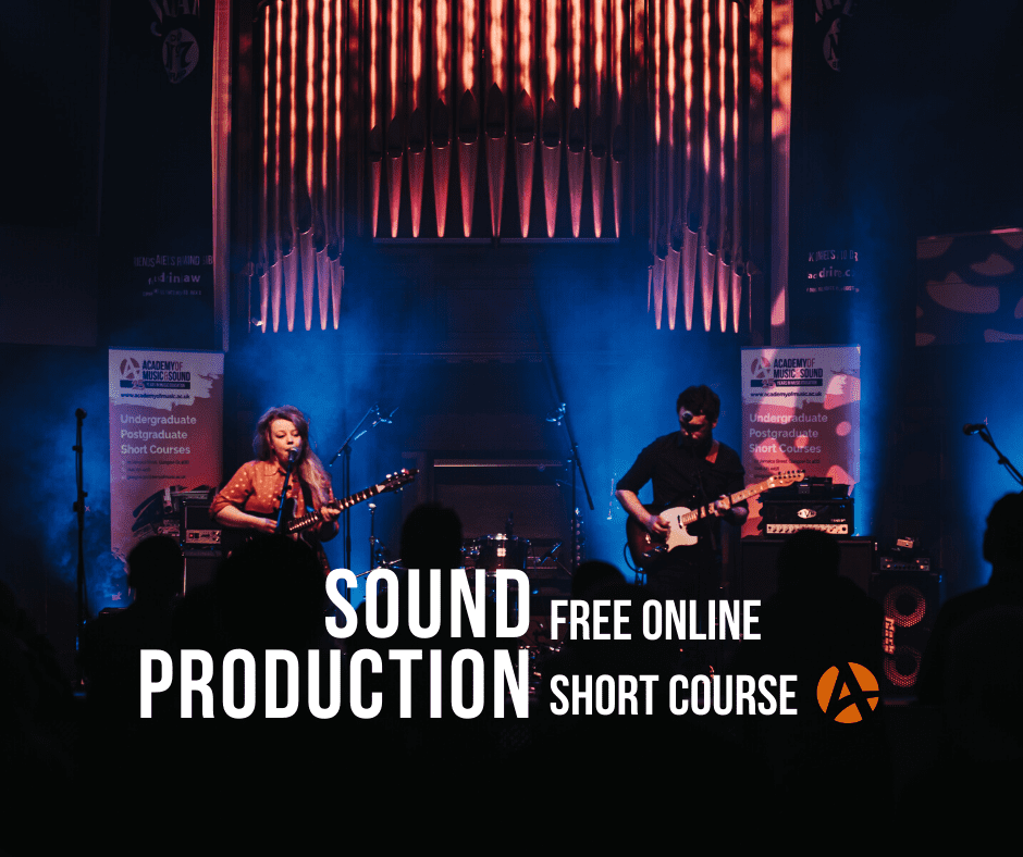 Sound Production online short course, Scotland