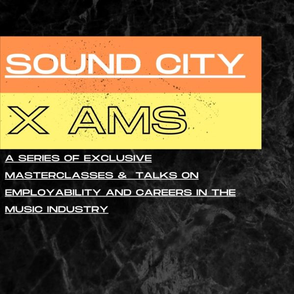 AMS partner with Sound City on a series of exclusive online talks