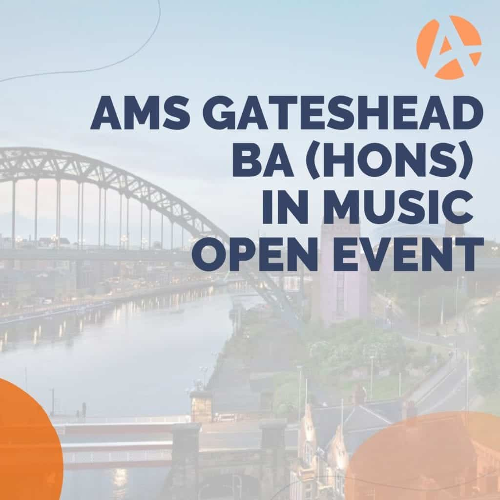 Gateshead Online Open Event – BA (Hons) Music and Sound