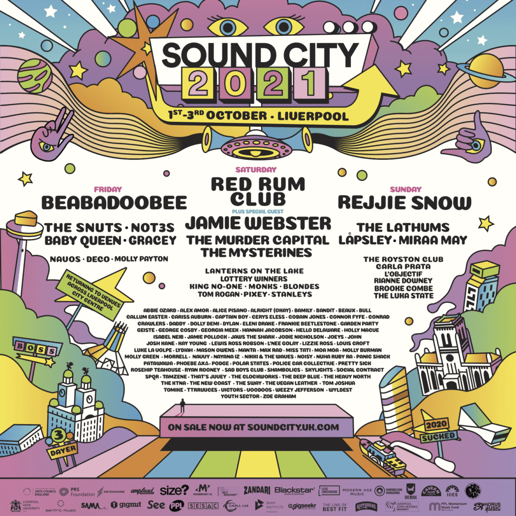 liverpool sound city 2021 festival ams academy of music