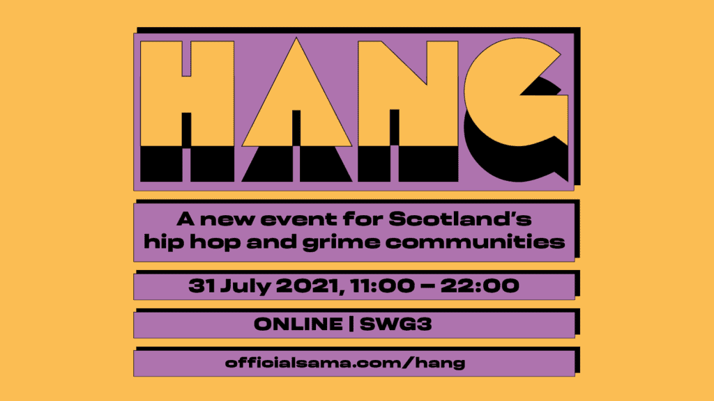 HANG (Hip-Hop Aimed Networking with Grime) Conference 2021